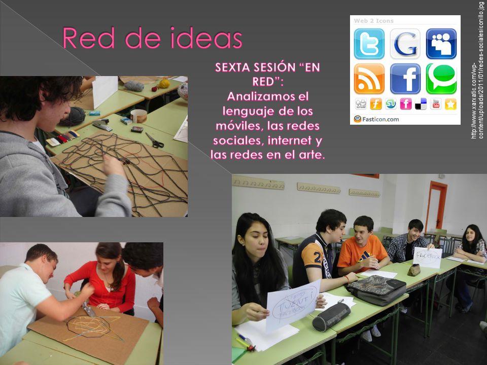 Red de ideas SEXTA SESIÓN EN RED :