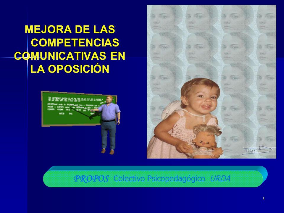 MEJORA DE LAS COMPETENCIAS