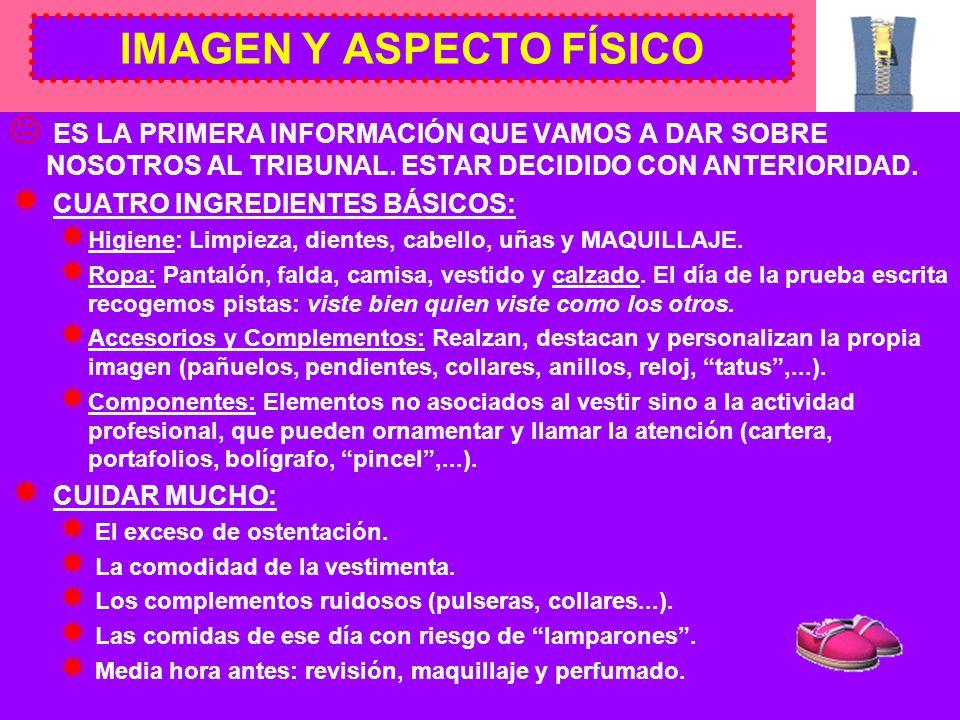 IMAGEN Y ASPECTO FÍSICO