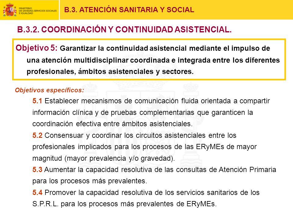 B.3.2. COORDINACIÓN Y CONTINUIDAD ASISTENCIAL.