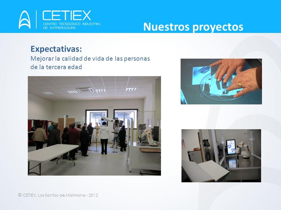 Nuestros proyectos Expectativas: