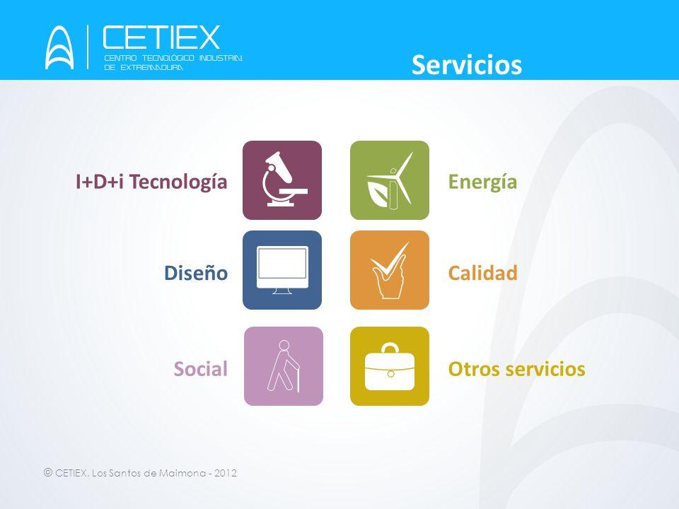 Servicios I+D+i Tecnología Energía Diseño Calidad Social