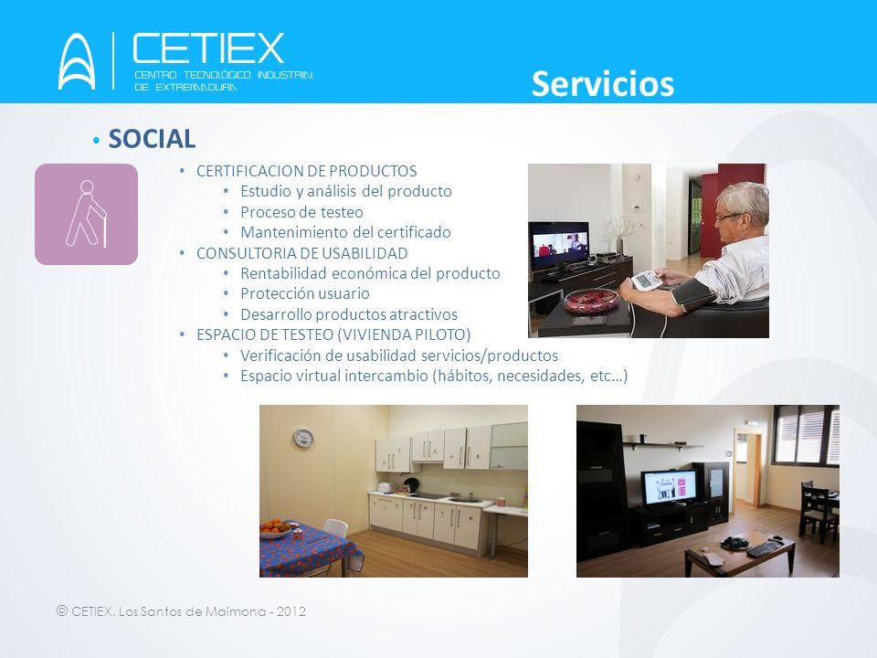 Servicios SOCIAL CERTIFICACION DE PRODUCTOS
