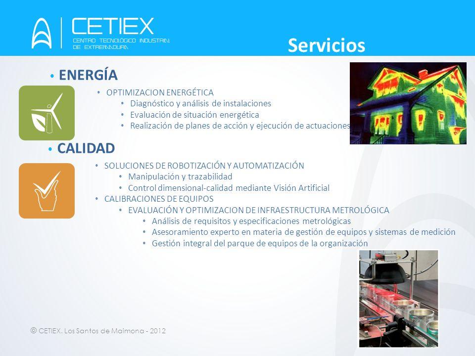 Servicios ENERGÍA CALIDAD OPTIMIZACION ENERGÉTICA