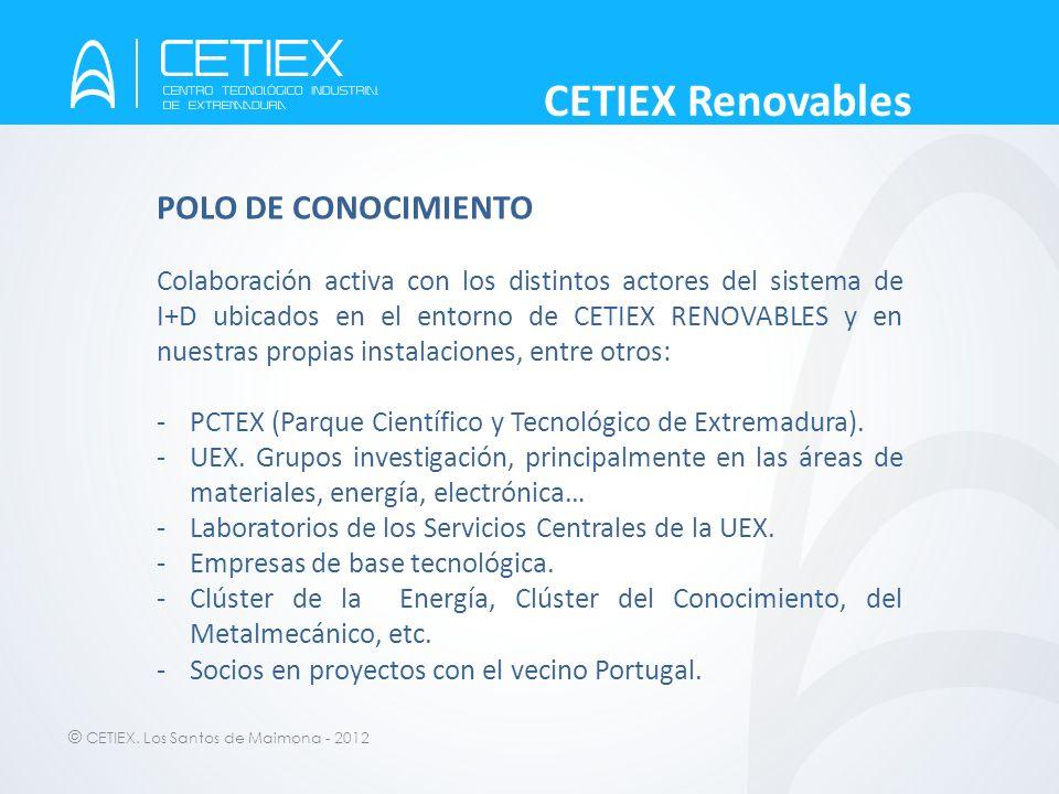 CETIEX Renovables POLO DE CONOCIMIENTO