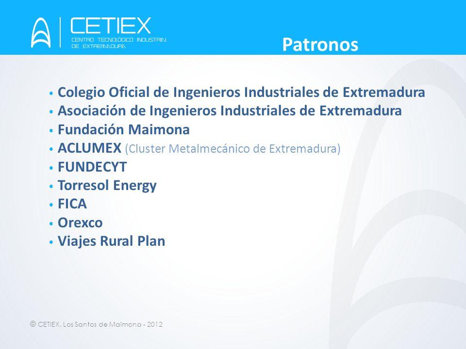 Patronos Colegio Oficial de Ingenieros Industriales de Extremadura