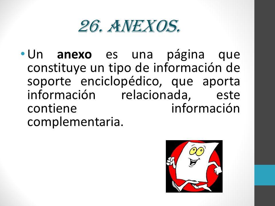 26. Anexos.