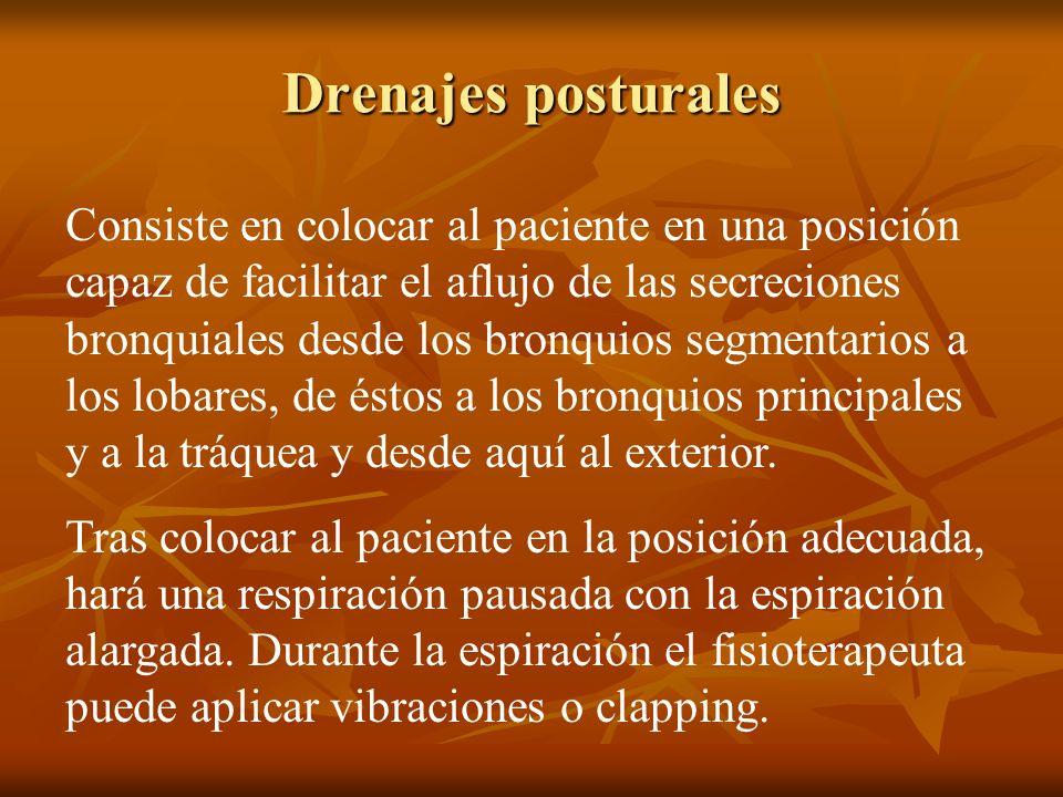 Drenajes posturales