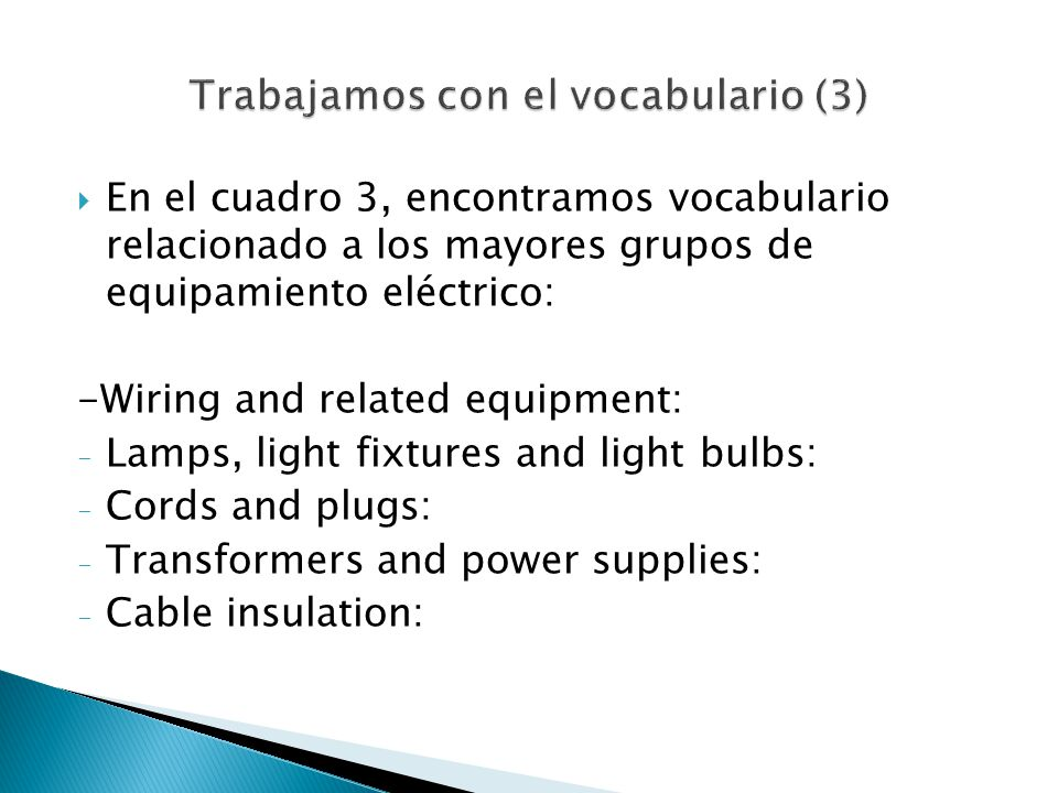 Trabajamos con el vocabulario (3)