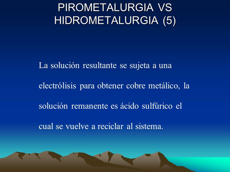 PIROMETALURGIA VS HIDROMETALURGIA (5)