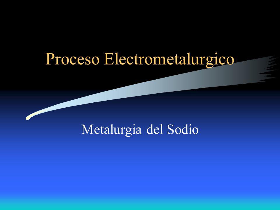 Proceso Electrometalurgico