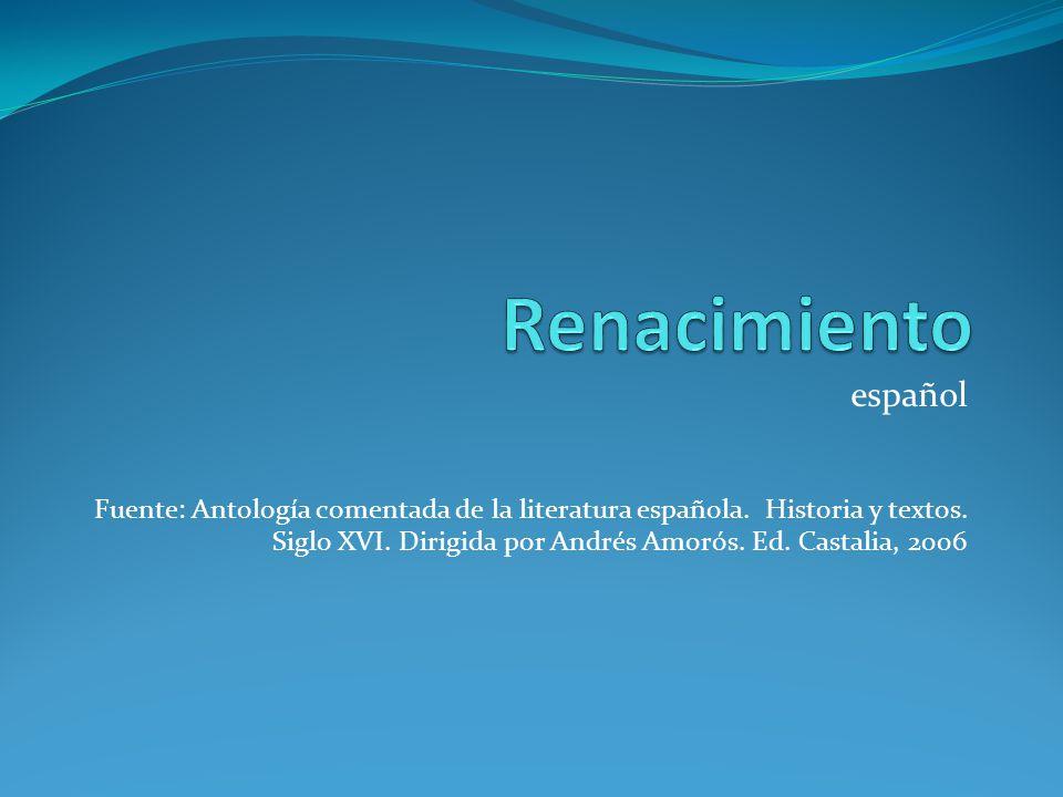 Renacimiento español.
