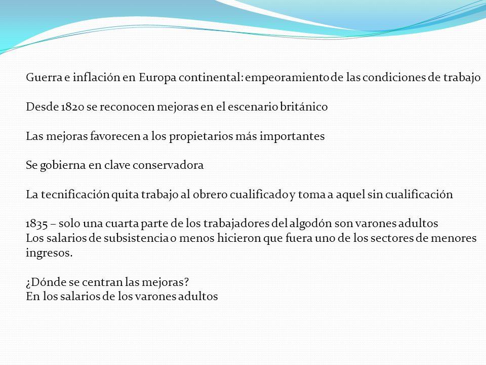 Guerra e inflación en Europa continental: empeoramiento de las condiciones de trabajo