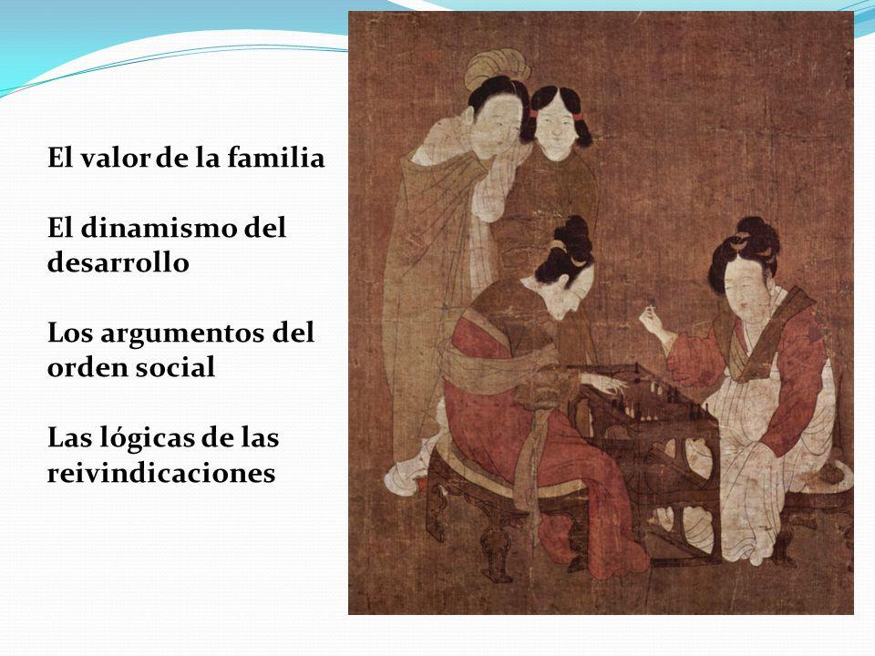 El valor de la familia El dinamismo del desarrollo.