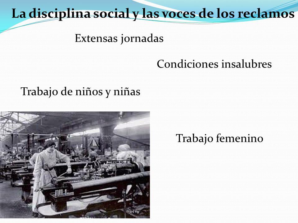 La disciplina social y las voces de los reclamos
