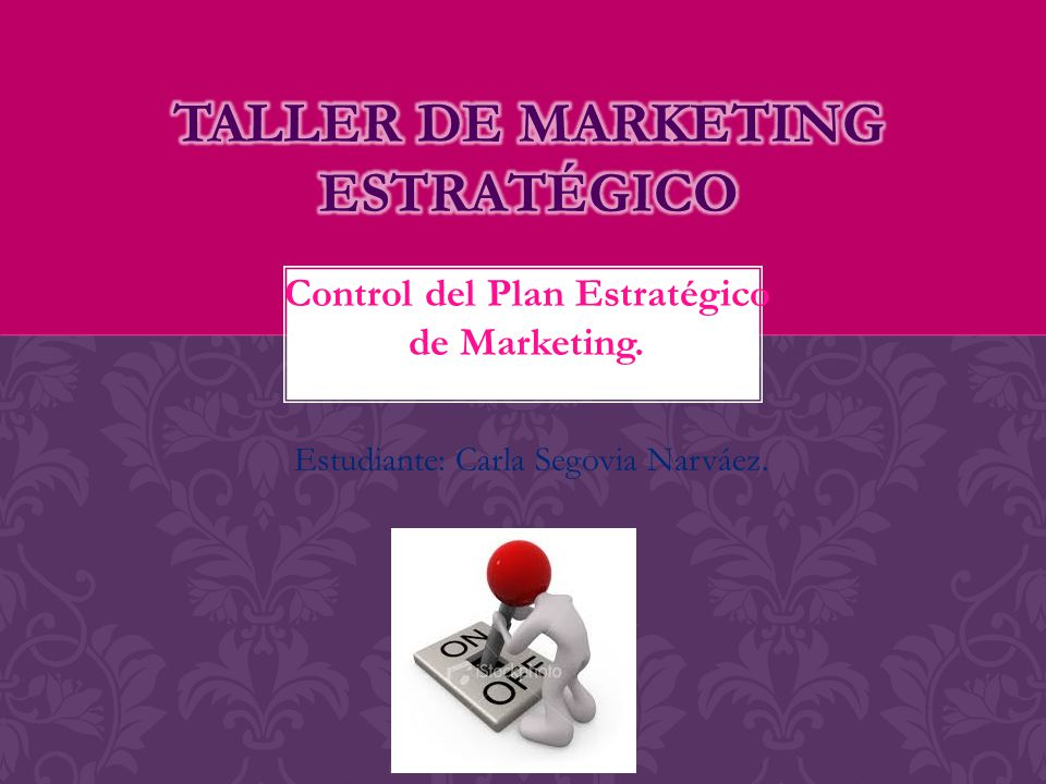 Taller de marketing estratégico