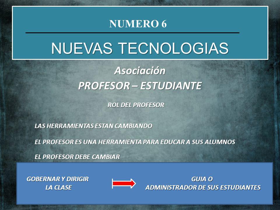 Asociación PROFESOR – ESTUDIANTE ADMINISTRADOR DE SUS ESTUDIANTES