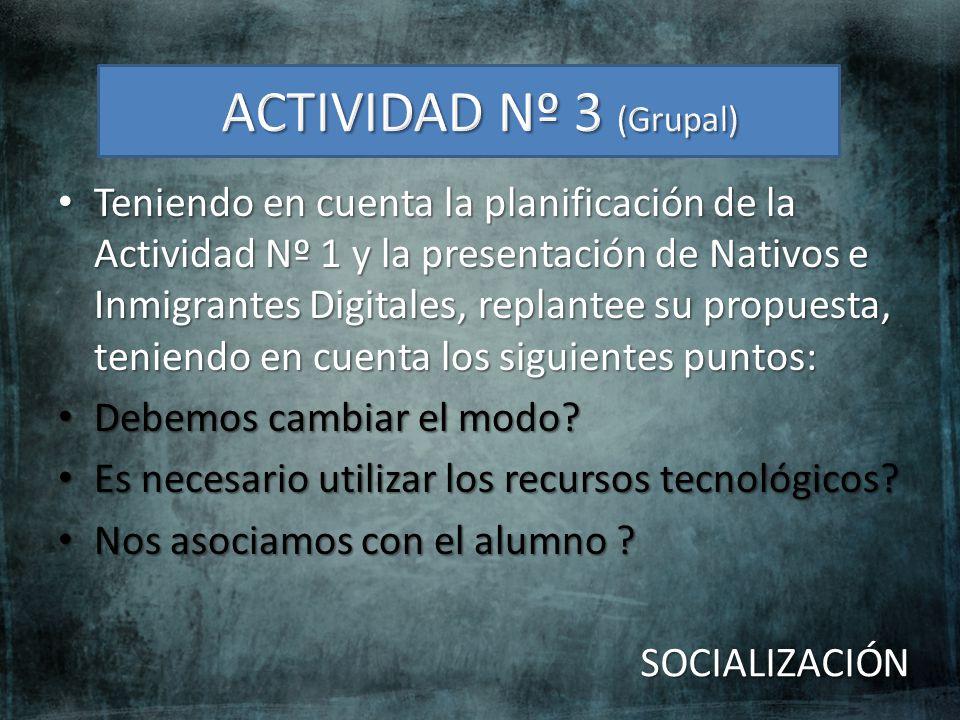 ACTIVIDAD Nº 3 (Grupal)