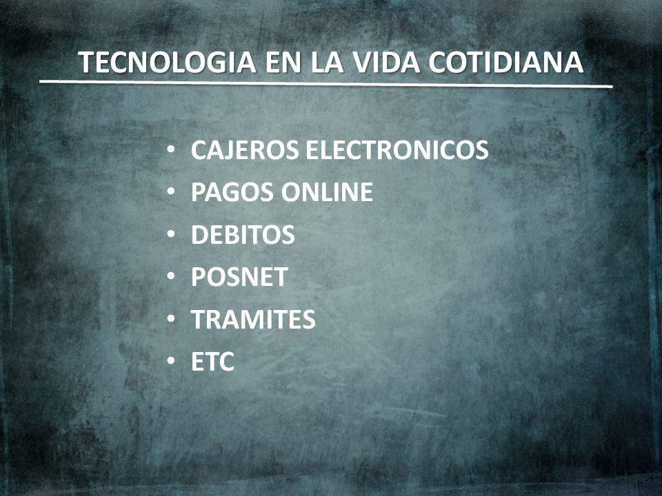 TECNOLOGIA EN LA VIDA COTIDIANA