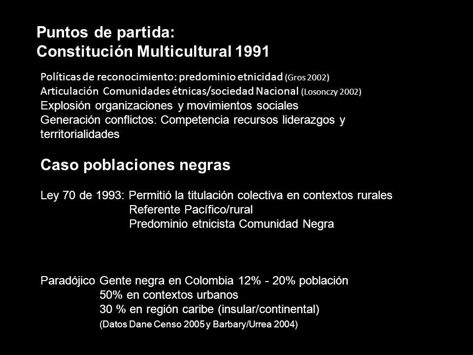 Constitución Multicultural 1991