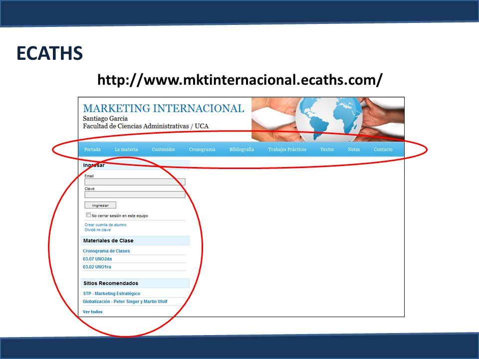 ECATHS http://www.mktinternacional.ecaths.com/