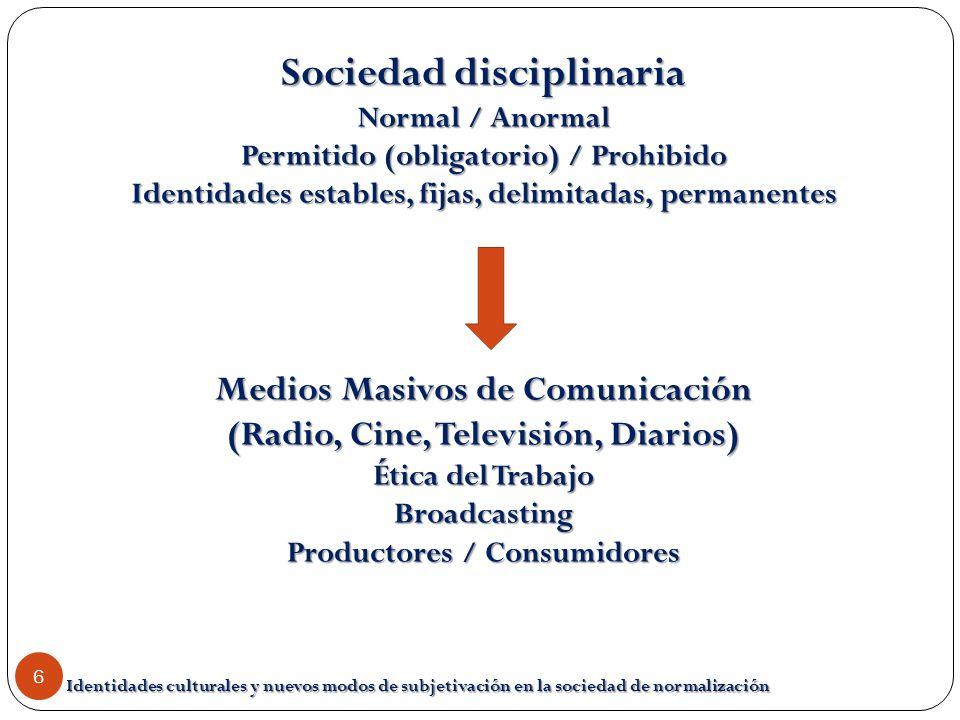 Sociedad disciplinaria