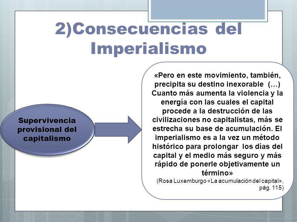 2)Consecuencias del Imperialismo
