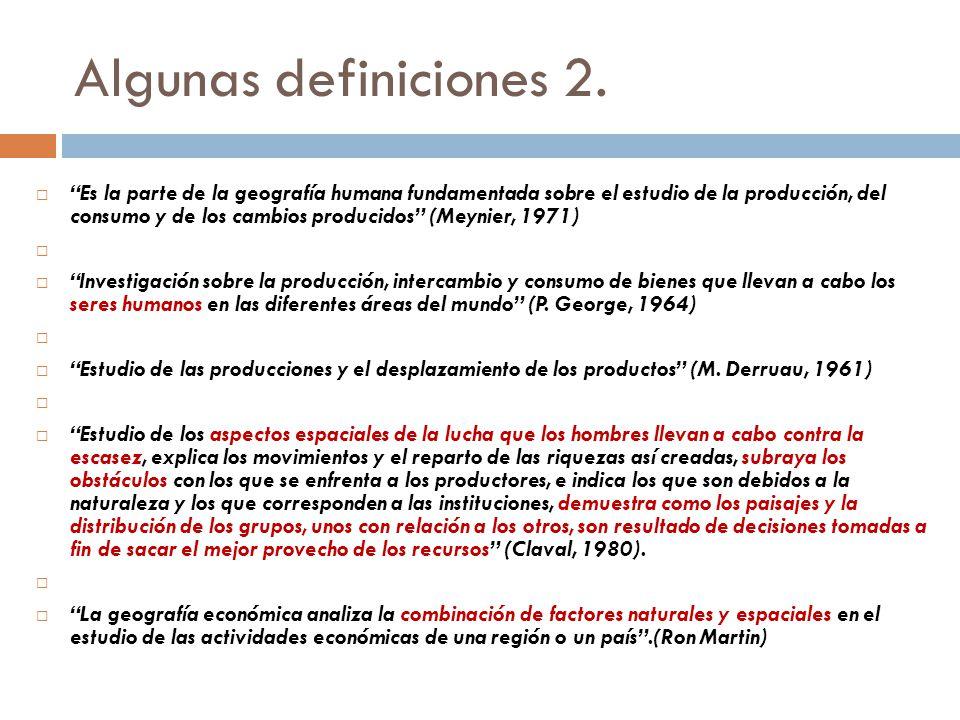 Algunas definiciones 2.