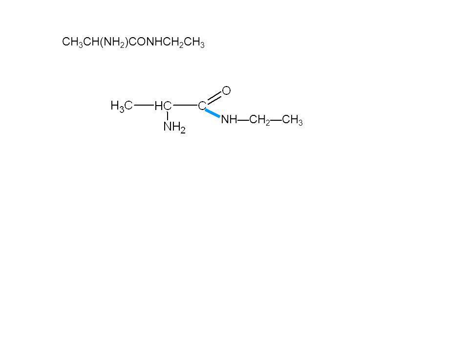 CH3CH(NH2)CONHCH2CH3 NH—CH2—CH3