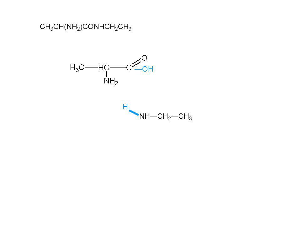 CH3CH(NH2)CONHCH2CH3 —OH H NH—CH2—CH3