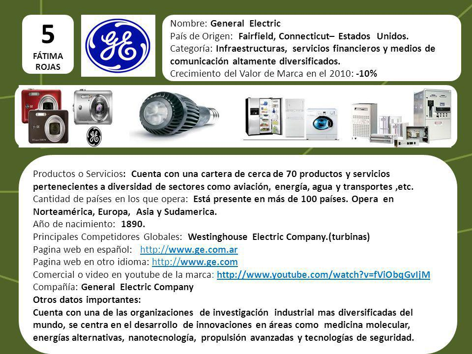 5 Nombre: General Electric