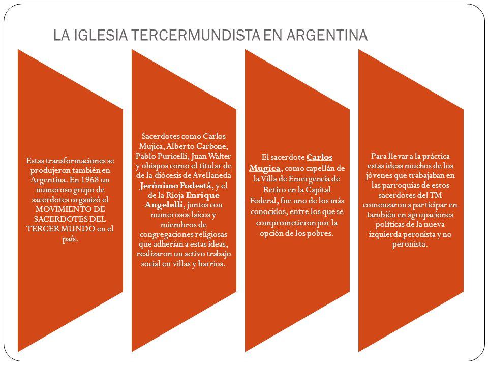 LA IGLESIA TERCERMUNDISTA EN ARGENTINA