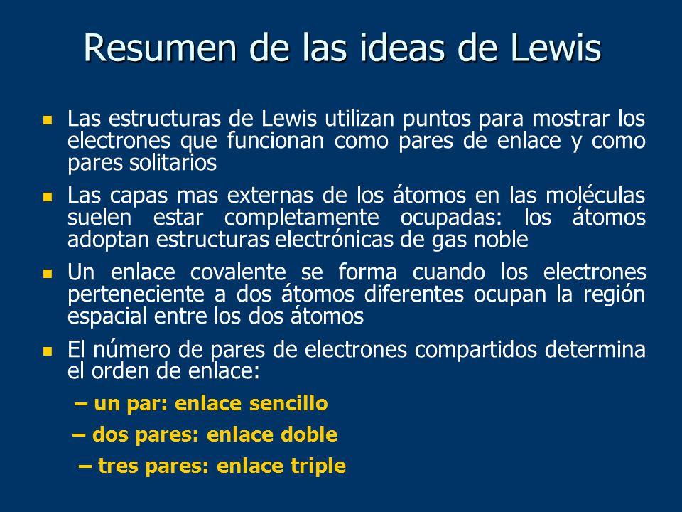 Resumen de las ideas de Lewis