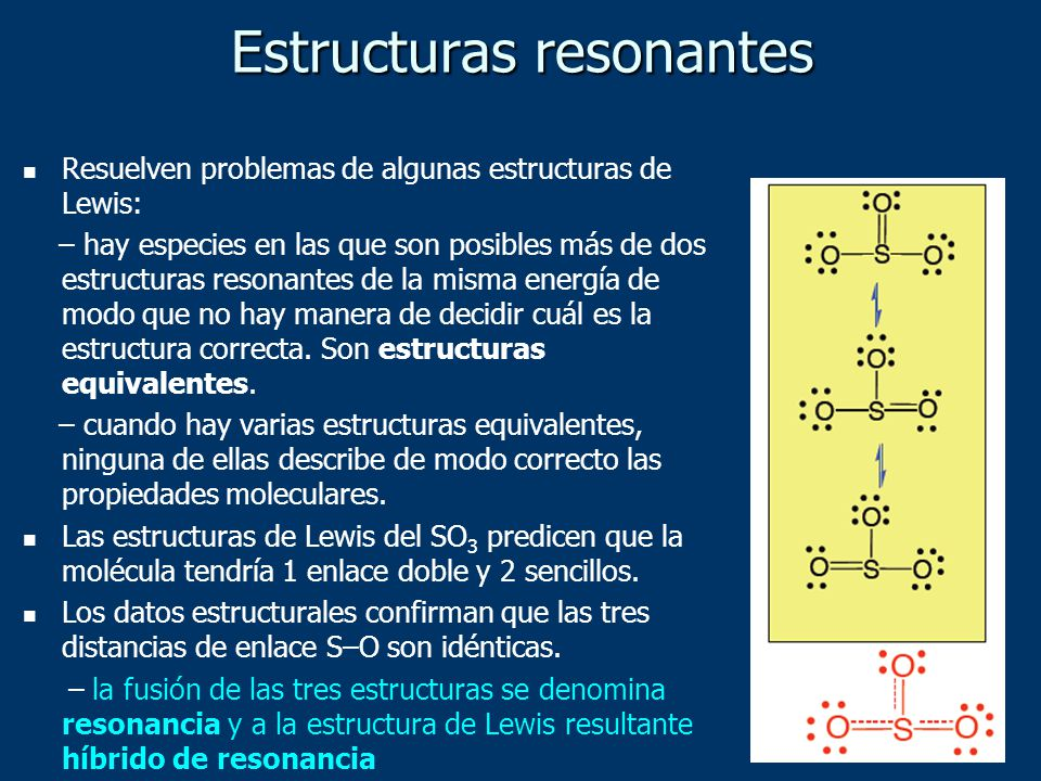 Estructuras resonantes