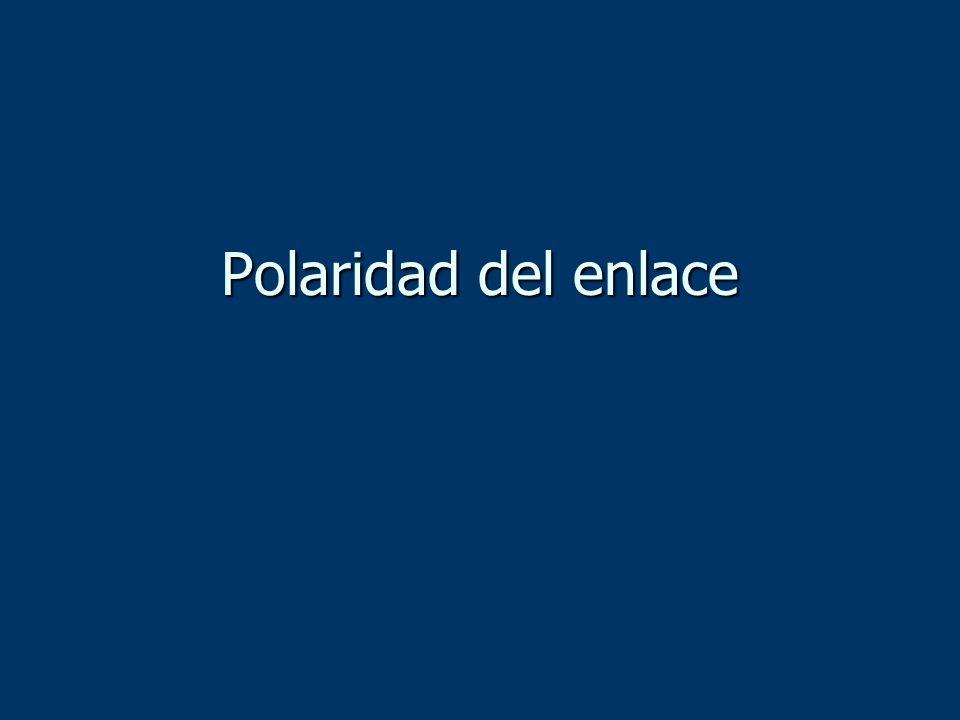 Polaridad del enlace