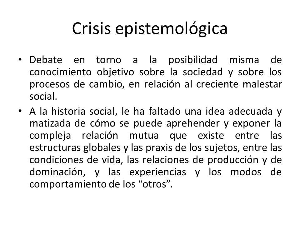 Crisis epistemológica