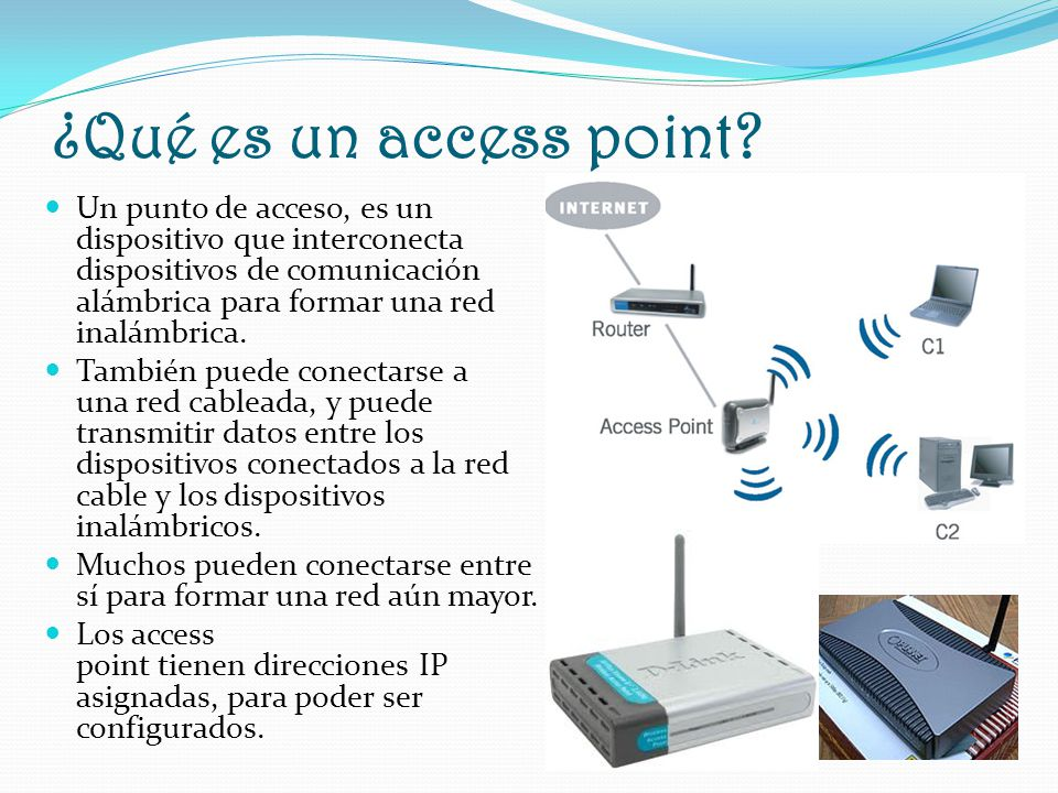 ¿Qué es un access point