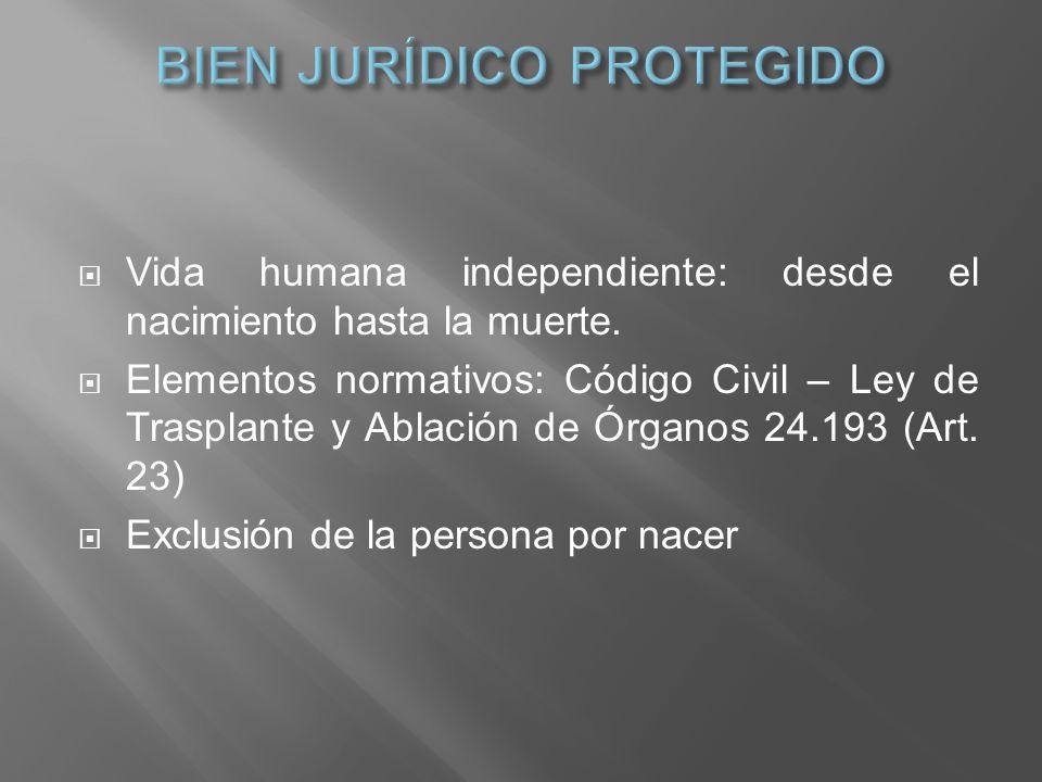 BIEN JURÍDICO PROTEGIDO