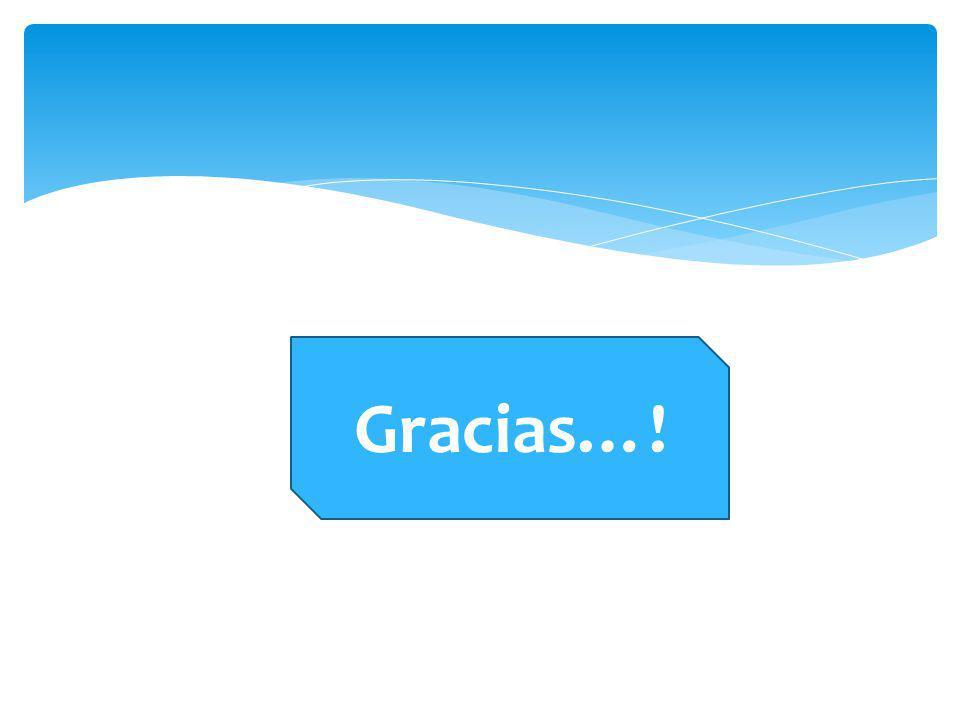 Gracias…!