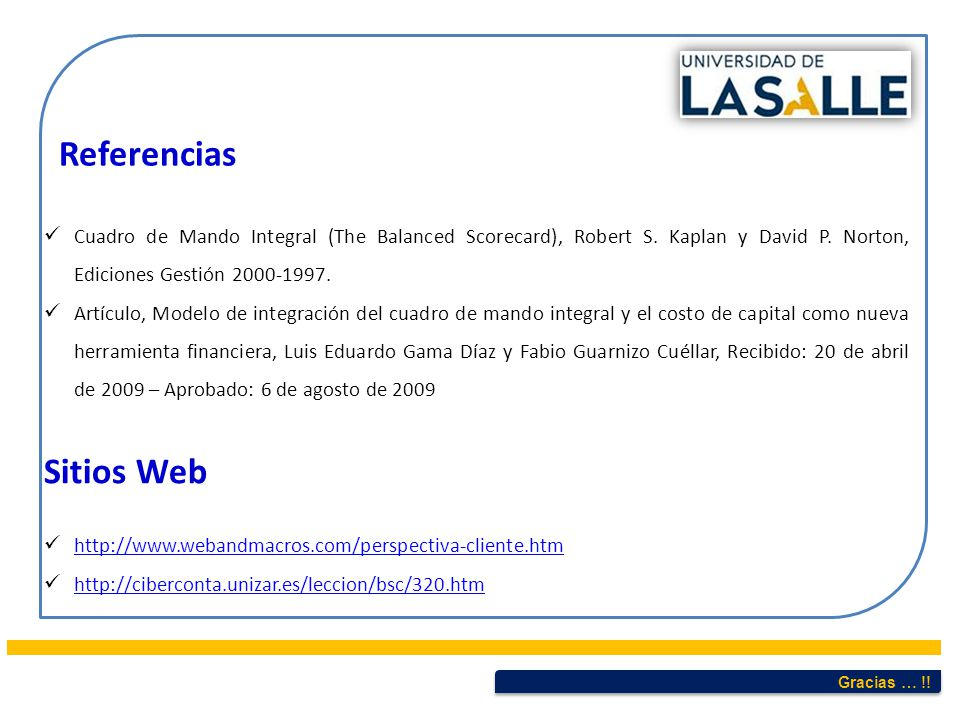 Referencias Sitios Web