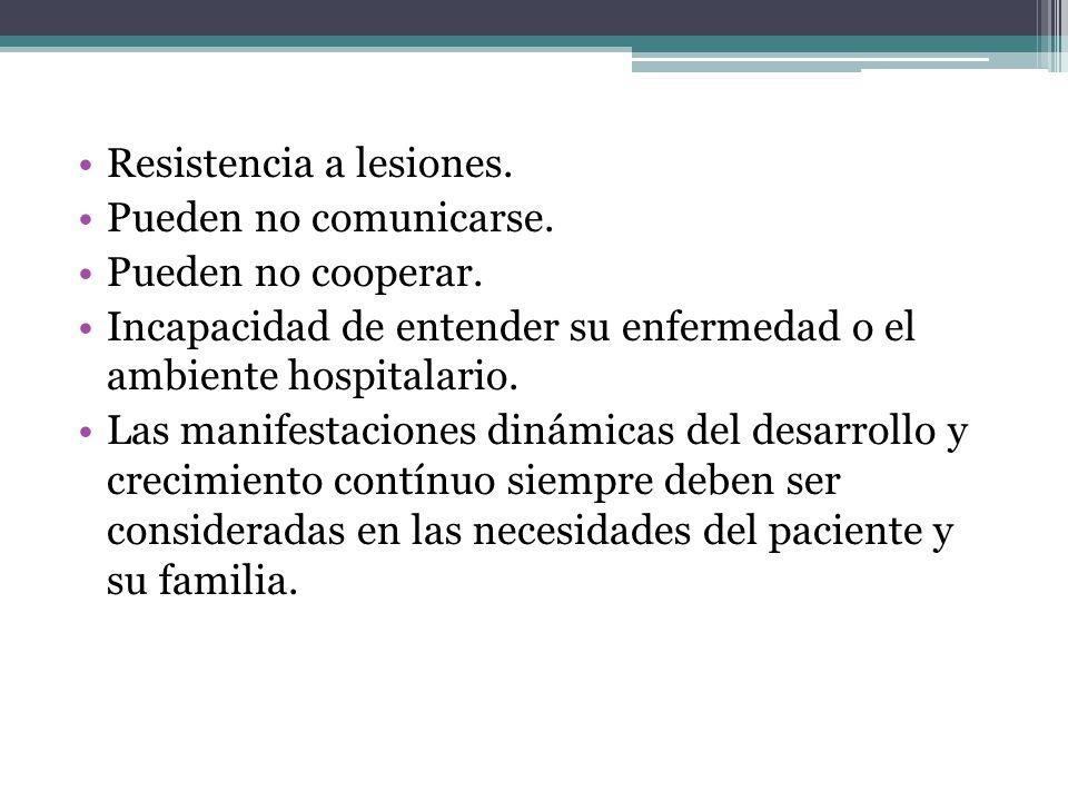 Resistencia a lesiones.