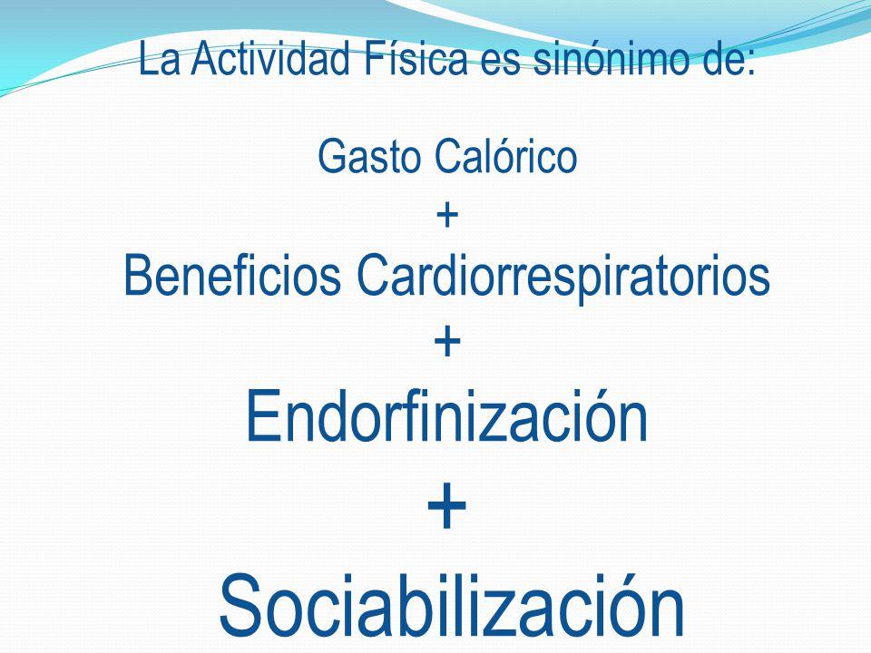 Endorfinización Beneficios Cardiorrespiratorios +
