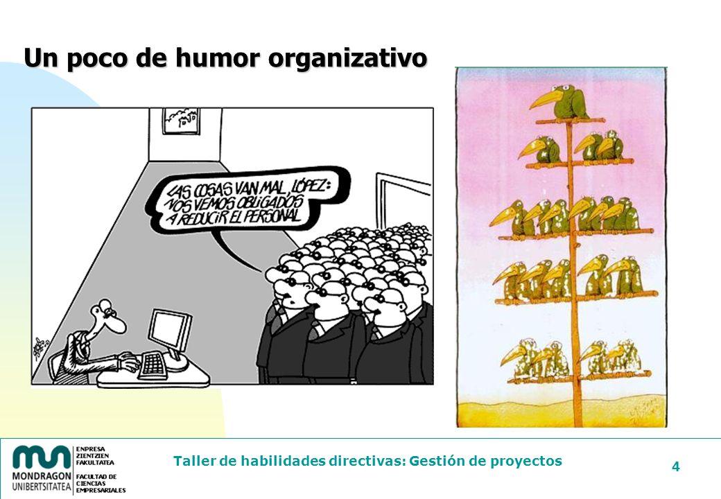 Un poco de humor organizativo