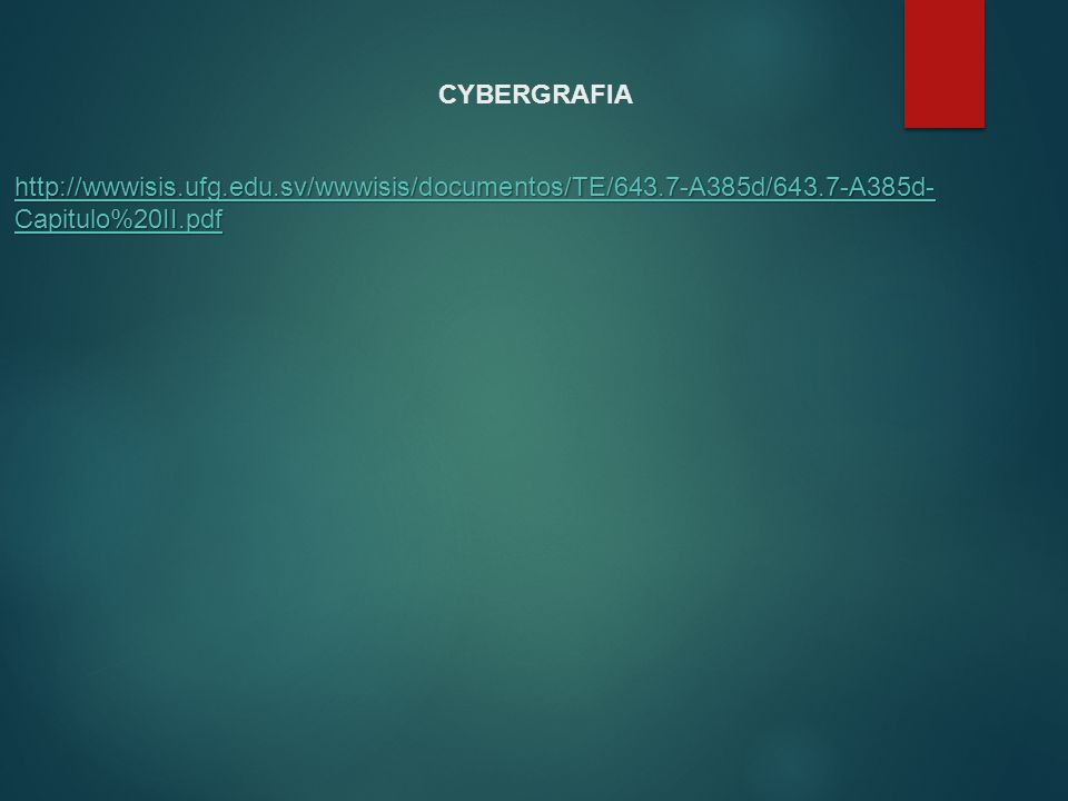CYBERGRAFIA http://wwwisis.ufg.edu.sv/wwwisis/documentos/TE/643.7-A385d/643.7-A385d-Capitulo%20II.pdf.