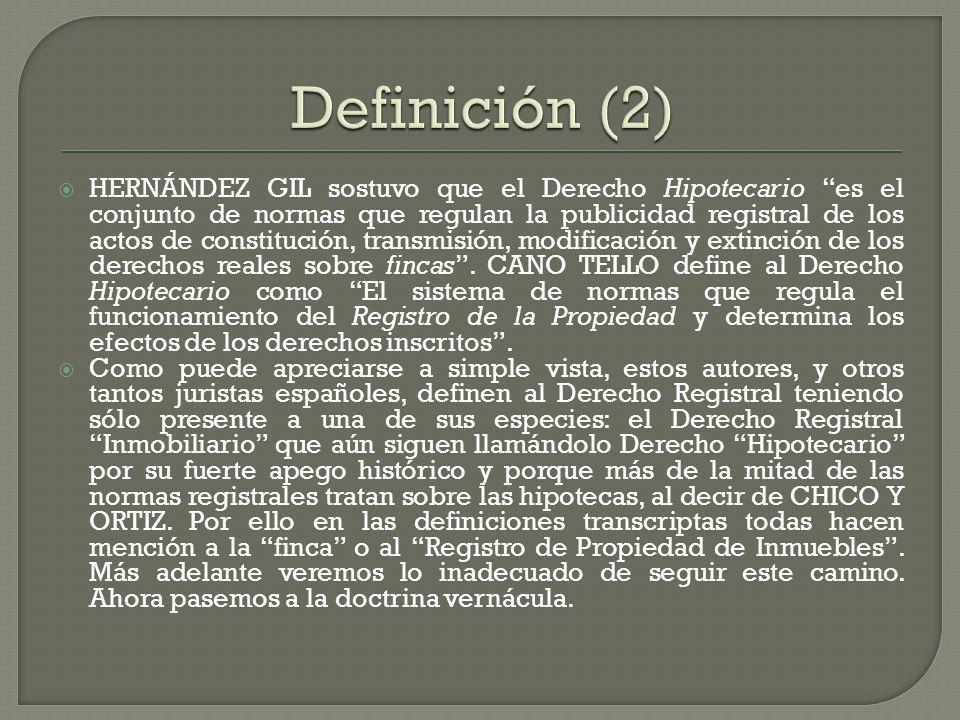 Definición (2)