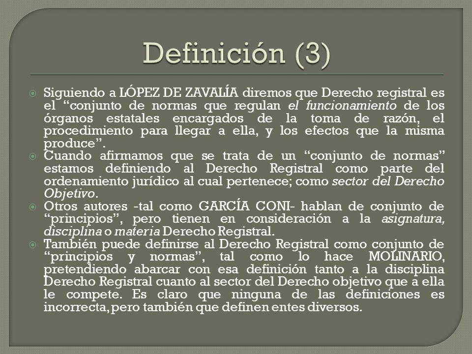 Definición (3)