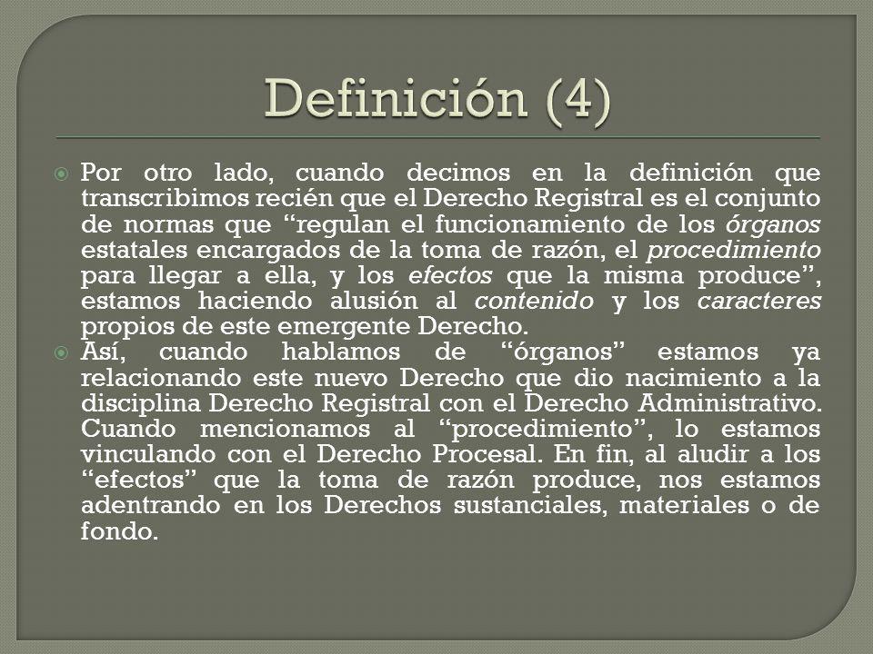 Definición (4)