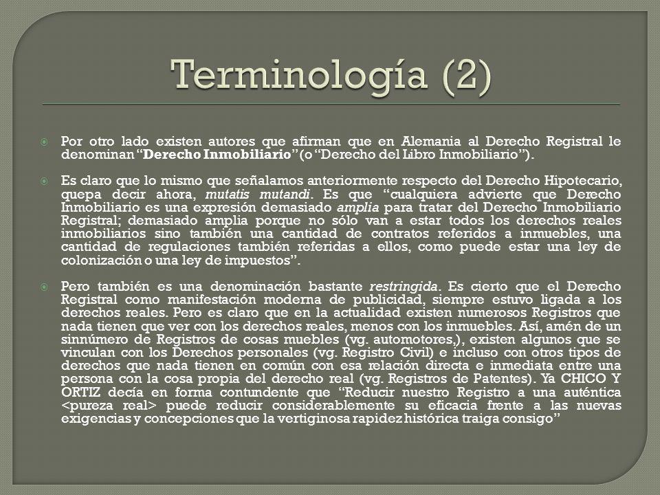 Terminología (2)