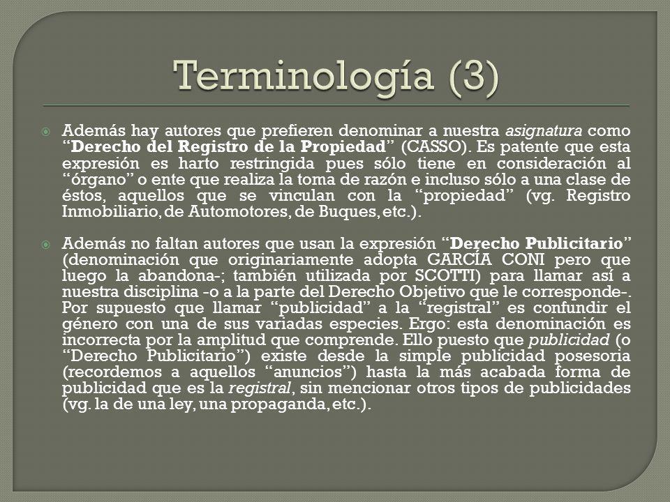 Terminología (3)