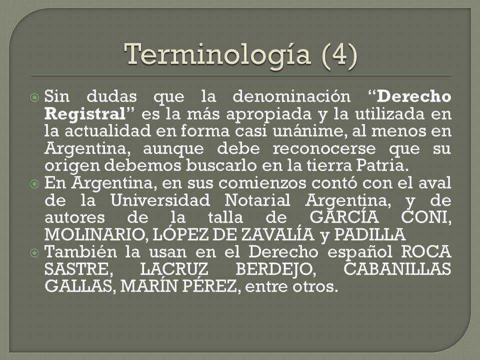 Terminología (4)